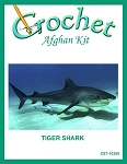Tiger Shark Crochet Afghan Kit